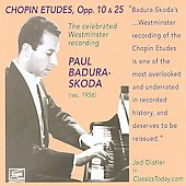 Chopin: Etudes Op. 10 & 25 / Paul Badura-Skoda