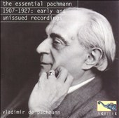 The Essential Pachmann: 1907-1927, Early and Unissued Recordings