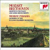 Beethoven, Mozart: Quintets for Piano & Winds / Perahia