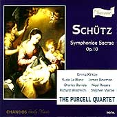 Sch&uuml;tz: Symphoniae Sacrae / Purcell Quartet, Kirkby, et al