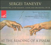 Sergei Taneyev: At the Reading of a Psalm / Svetlanov