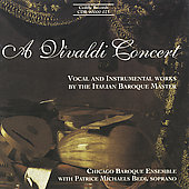 A Vivaldi Concert / Bedi, Chicago Baroque Ensemble