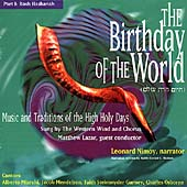 Western Wind (Vocal Ens.): Birthday of the World, Part 1: Rosh Hashanah
