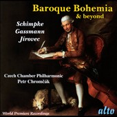 Baroque Bohemia & Beyond, Vol. 6 - Gassman: Symphony in c; Gyrowetz: Symphony Op. 6/3; Schimpke: Sinfonia ex F