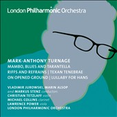Mark-Anthony Turnage: Orchestral Works, Vol. 3 / Christian Tetzlaff, violin; Jurowski; Alsop