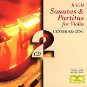 Bach: Sonatas & Partitas for Violin / Henryk Szeryng