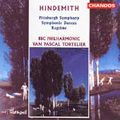 Hindemith: Pittsburgh Symphony, etc / Tortelier, BBC PO