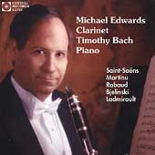 Saint-Saëns, Martinu, Rabaud, etc / Edwards, Bach