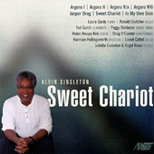 Alvin Singleton (b.1940): Sweet Chariot - Argoru, Jasper Drag, Sweet Chariot, In My Own Skin / Laura Gordy, piano; Ronald Crutcher, cello; Ted Gurch, clarinet et al.