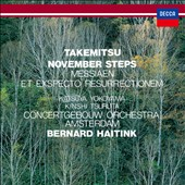 Takemitsu: November Steps; Messiaen: Et Exspecto Resurrectionem [SHM-CD]