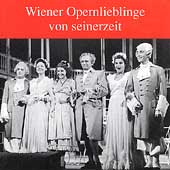 Wiener Opernlieblinge von seinerzeit / G&uuml;den, Kunz, et al