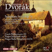 Dvorak: Symphony No. 7; The Heirs of the White Mountain; Symphonic Poems / Czech Philharmonic; Prague Symphony; Prague Radio Symphony