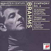 Bernstein Century - Brahms: Symphony no 4, Overtures