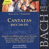 Edition Bachakademie Vol 46 - Cantatas BWV 148-151 / Rilling