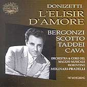 Donizetti: L'Elisir d'Amore / Gavazzeni, Bergonzi, Scotto