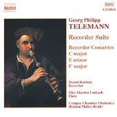 Telemann: Suite and Concertos for Recorder / Rothert, et al