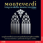 Monteverdi: Vespro della Beata Vergine / Stubbs, et al