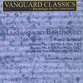 Beethoven: Piano Sonatas no 1, 2, 4 and 5 / Hungerford