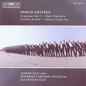 Saeverud: Symphony no 5, etc / Ruud, G. Hunt, Stavanger SO