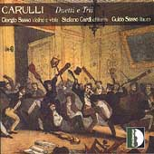 Carulli: Duetti e Trii / Giorgio Sasso, Stefano Cardi, et al