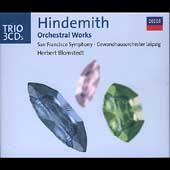 Trio - Hindemith: Orchestral Works /Herbert Blomstedt, et al