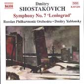 Shostakovich: Symphony no 7 / Dmitry Yablonsky, Russian PO