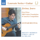 Laureate Series, Guitar - J&eacute;r&eacute;my Jouve