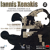 Xenakis: Psappha, etc / Carniero, Rich, Gibson, et al