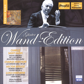 Günther Wand Edition - Saint-Saëns: Violin Concerto, etc
