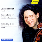 Haydn: Cello Concertos;  Denisov / Bruns, Mendelssohn CO