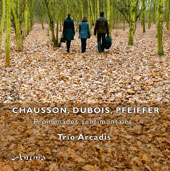 Piano Trios by Chausson, Dubois and Pfeiffer / Trio Arcadis
