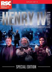 William Shakespeare: Henry IV, Parts I & II / Royal Shakespeare Company; Gregory Doran [4 DVD]