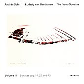 Beethoven: The Piano Sonatas Vol 3 / Andr&aacute;s Schiff