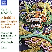 Carl Davis: Aladdin / Davis, Malaysian PO