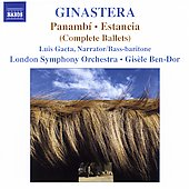Ginastera: Panambí, Estancia / Ben-Dor, London SO