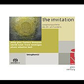 Invitation - Sax Quartets - Glass, Bach, etc / Tetraphonics