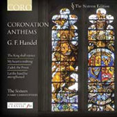 Handel: Coronation Anthems / Christophers, The Sixteen