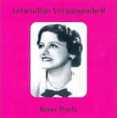Lebendige Vergangenheit - Rose Pauly