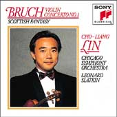 Bruch: Violin Concerto no 1, Scottish Fantasy / Lin, Slatkin