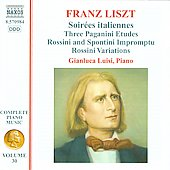 Liszt: Complete Piano Music Vol 30 / Gianluca Luisi