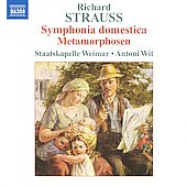 Richard Strauss: Symphonia Domestica, Metamorphosen / Antoni Wit