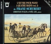 Franz Schubert: Music for Piano for Four Hands, Volume 2