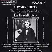 Grieg: Complete Piano Music Vol 5 / Eva Knardahl