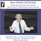Jean-Michel Damase Concertos Ballade, Harp, Duo  Concertant-Flute and Harp, Double Conc