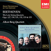 Beethoven: The Late String Quartets, Op.127, 130-133, 135 / Alban Berg Quartett (rec. 1989)