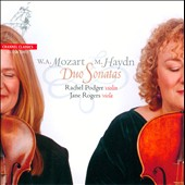 Mozart, Haydn: Duo Sonatas / Rachel Podger, violin; Jane Rogers, viola