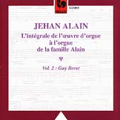 Jehan Alain: L'int&#233;grale de l'oeuvre d'orgue Vol 2 / Bovet