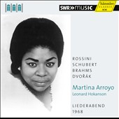 Liederabend 1968 - Soprano Martina Arroyo sings lieder and spirituals / Leonard Hokanson, piano