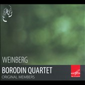Weinberg: Piano Quintet Op. 18; String Quartet, Op. 66 / Borodin Quartet; Mieczyslaw Weinberg, piano