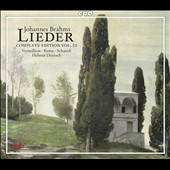Johannes Brahms: Lieder, Complete Edition Vol. 10 - German Folksongs / Iris Vermillion, Andreas Schmidt, Juliane Banse, Helmut Deutsch, piano